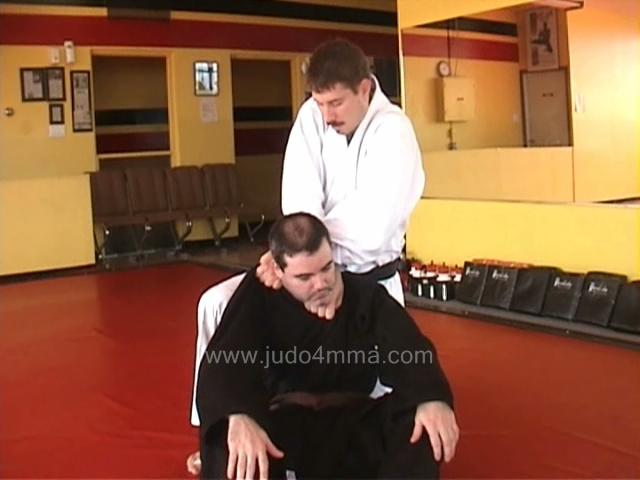 Click for a video showing a traditional Judo technique called Guruma Jime